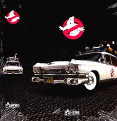 EY. RELIURE ECTO-1 GHOSBUSTERS