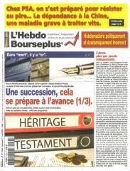 L'HEBDO BOURSE PLUS