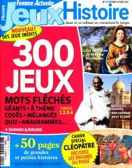 FEMME ACTUELLE JEUX HISTOIRE