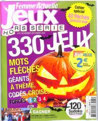 FEMME ACTUELLE JEUX HS + FEMME ACTUELLE DELICES