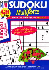 GH SUDOKU MULTIFORCE