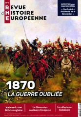 REVUE D'HISTOIRE EUROPEENNE
