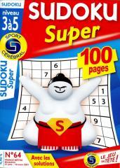 SC SUDOKU SUPER NIVEAU 3 À 5