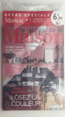 LE JOURNAL DE LA MAISON + CAMPAGNE DECORATION