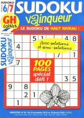 GH SUDOKU VAINQUEUR