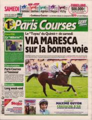 PARIS COURSES - QUOTIDIEN