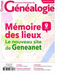 LA REVUE FRANCAISE DE GENEALOGIE