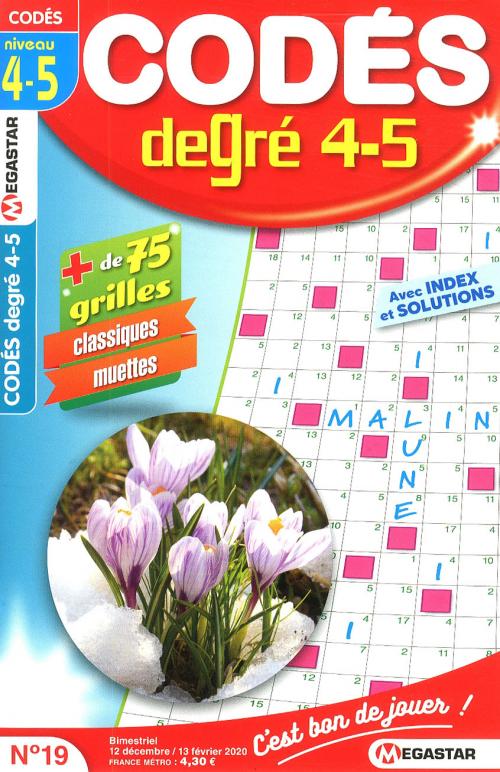 MG CODÉS DEGRÉ 4-5