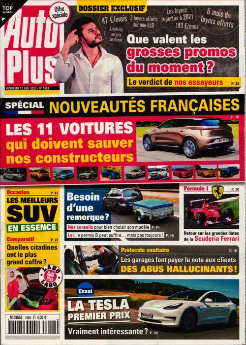 AUTO PLUS + L'AUTO JOURNAL