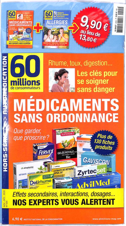 60 MILLIONS DE CONSOMMATEURS HS + PRODUIT