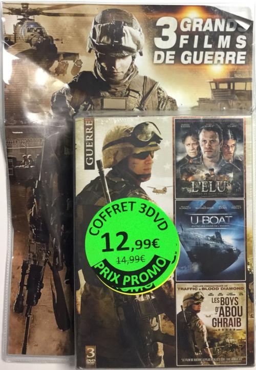 COFFRET 3 GRANDS FILMS DE GUERRE - DVD