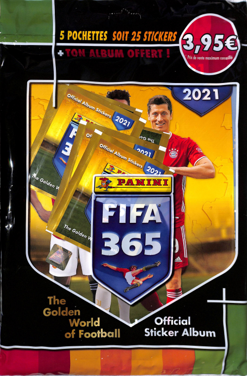 PANINI OFFICIAL STICKERS FIFA 365 2020-21