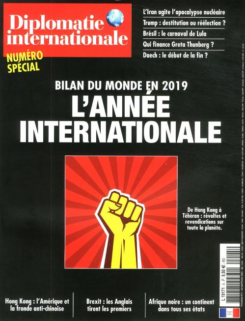 DIPLOMATIE INTERNATIONALE