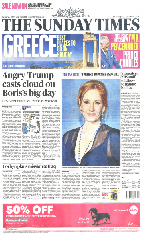 THE SUNDAY TIMES (GBR)