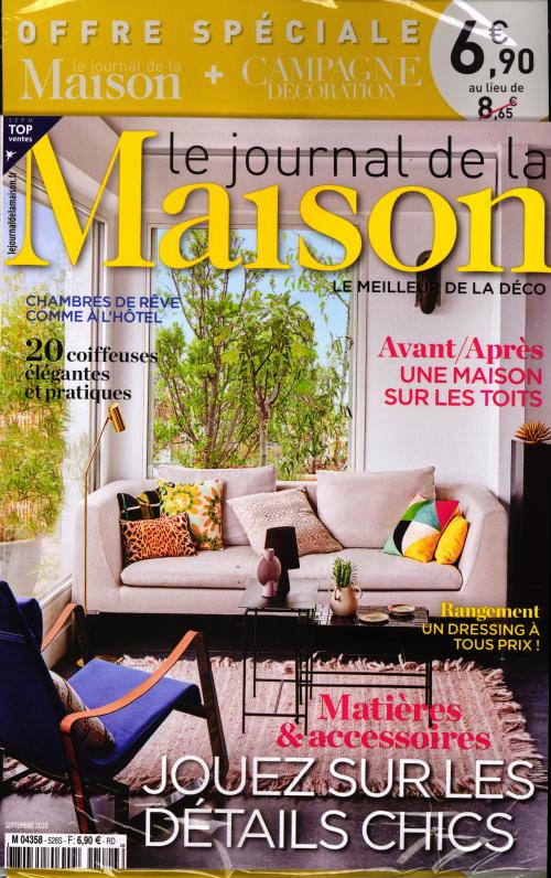 LE JOURNAL DE LA MAISON + CAMPAGNE DECORATION