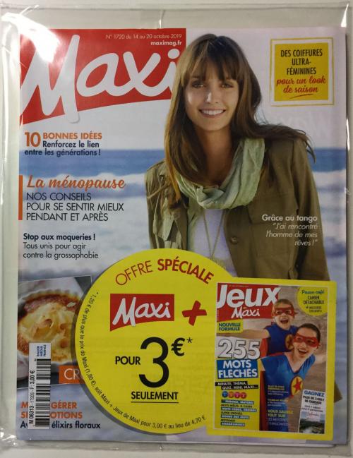 MAXI + LES JEUX DE MAXI