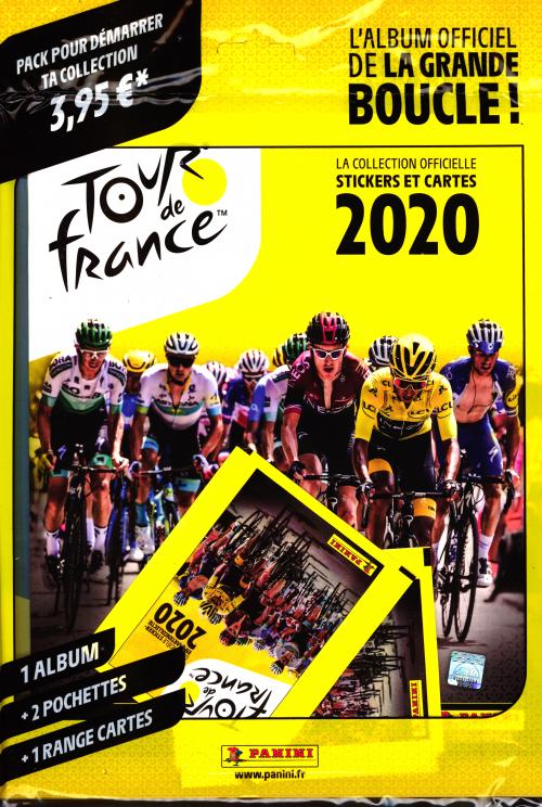 PANINI OFFICIELS STICKERS TOUR DE FRANCE 20