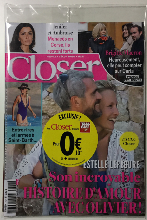 CLOSER + TÉLÉ STAR