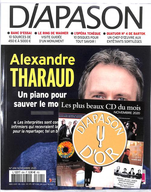 DIAPASON CD D'OR