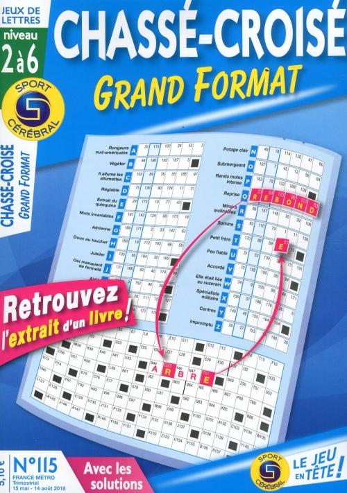 SC CHASSÉ CROISÉ GRAND FORMAT
