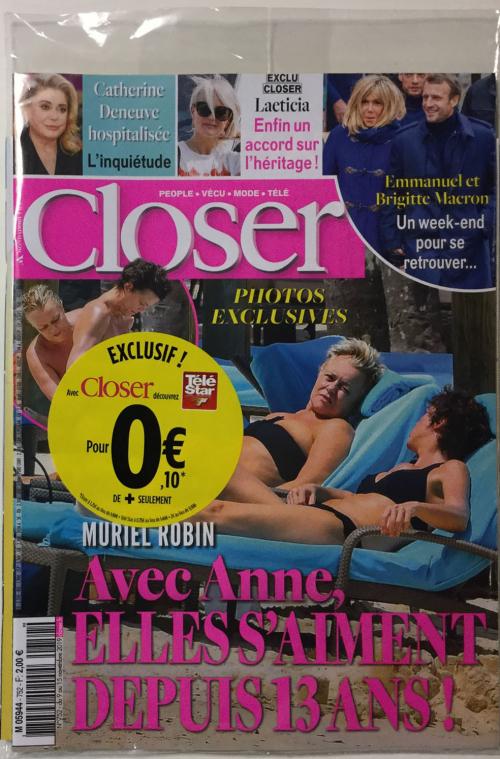 CLOSER + TÉLÉ STAR
