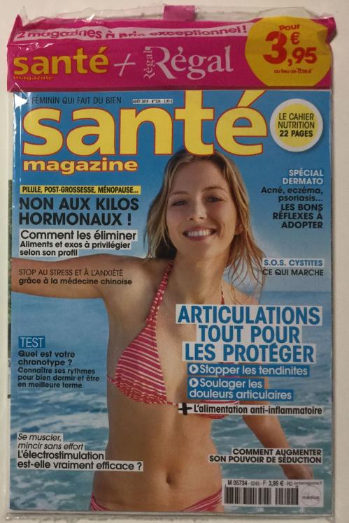SANTE MAGAZINE + REGAL