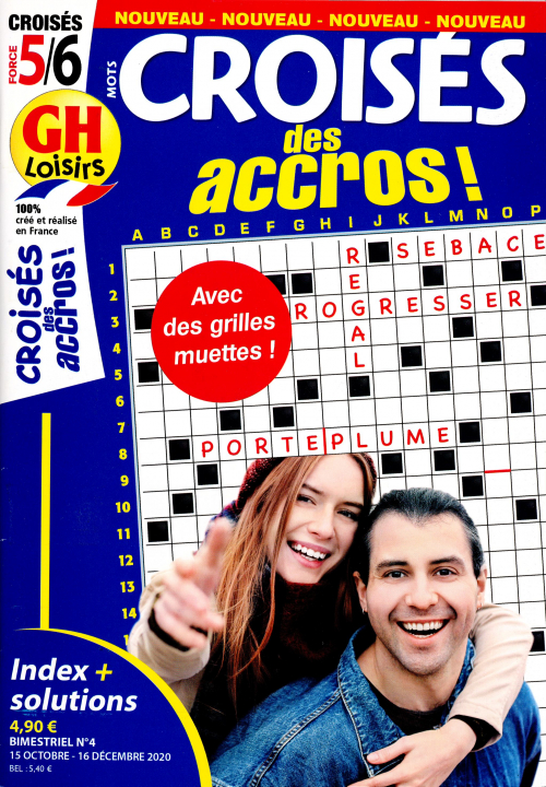 GH MOTS CROISÉS DES ACCROS !