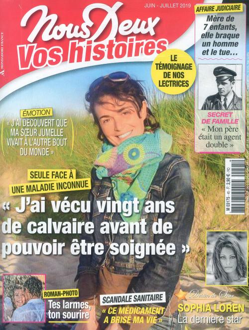 NOUS DEUX HS VOS HISTOIRES