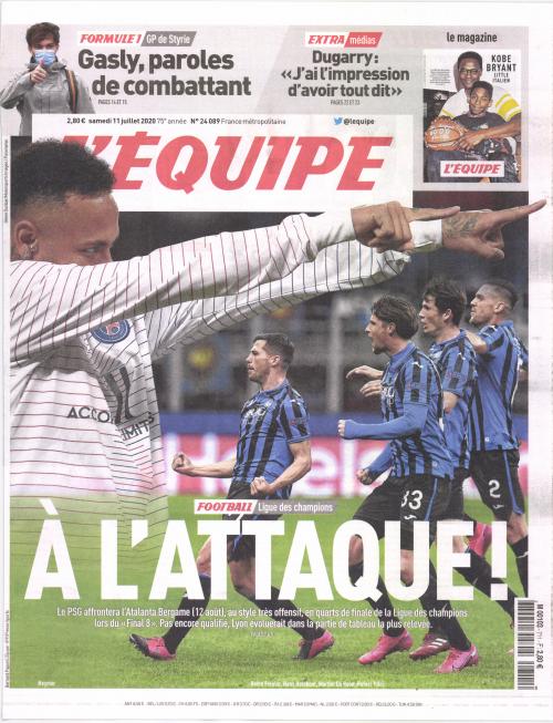 L'ÉQUIPE - WEEK-END (SAMEDI)