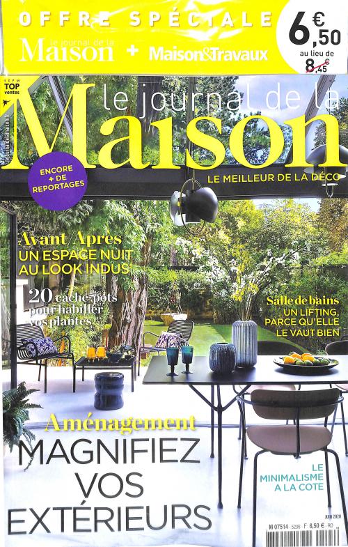 LE JOURNAL DE LA MAISON + MAISON & TRAVAUX