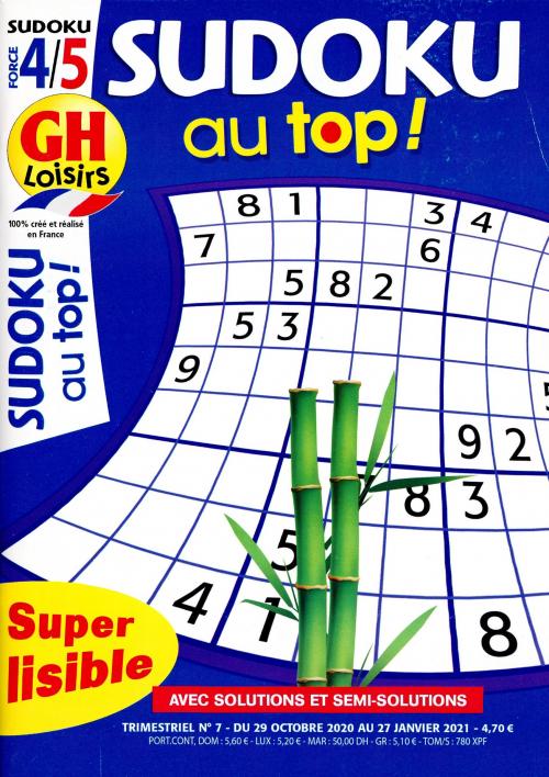 GH SUDOKU AU TOP