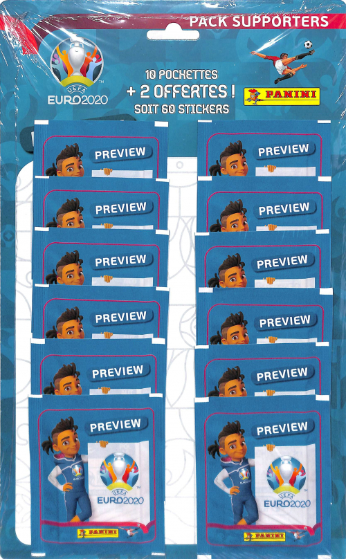 PANINI PACK EURO PREVIEW 2020