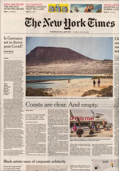 INTERNATIONAL THE NEW YORK TIMES (EX- INTERNATIONAL HERALD TRIBUNE)