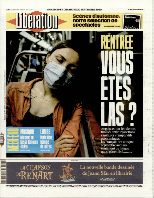 LIBÉRATION - WEEK-END