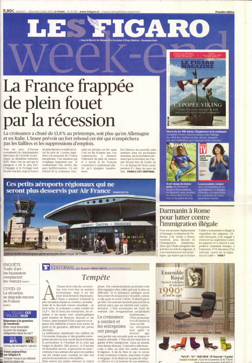 LE FIGARO WEEK END