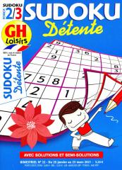 SUDOKU DETENTE FORCE 2-3