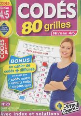 SC CODÉS LES 80 GRILLES NIVEAU 4/5