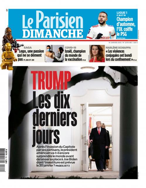 LE PARISIEN ÎLE-DE-FRANCE DIMANCHE