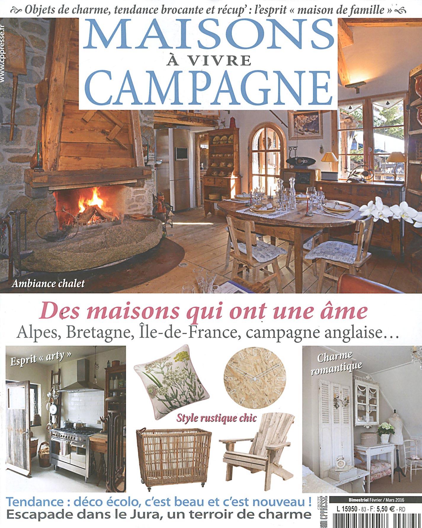 Maison A Vivre Campagne direct-éditeurs - * le service-client des diffuseurs de presse *