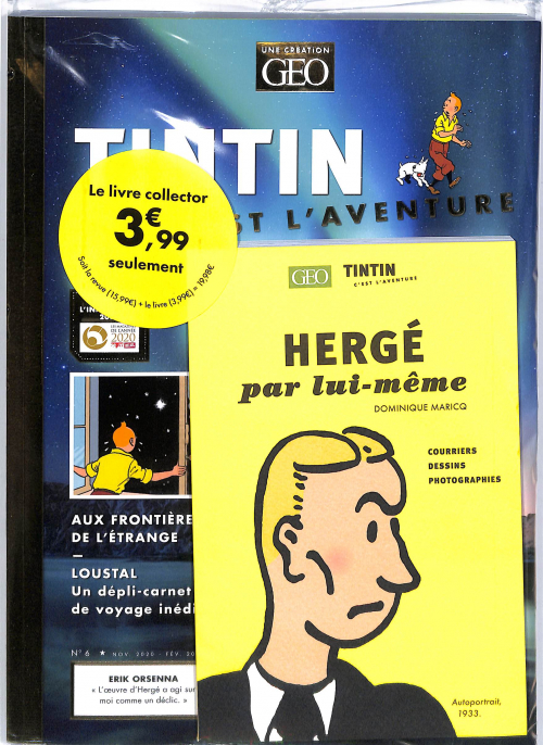 REVUE TINTIN + LIVRE